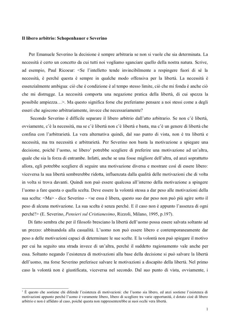 Il libero arbitrio in Schopenhauer Severino (trascinato).jpg