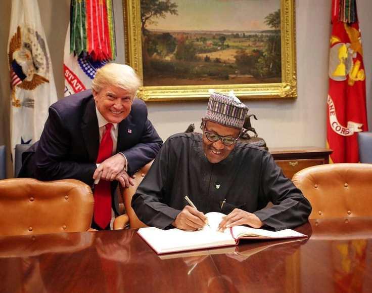 Page-21-first-story-Shugaba-Buhari-da-Shugaba-Trump-yayin-wata-ziyara-da-Shugaba-Buhari-kai-Amurka-kwanakin-baya.